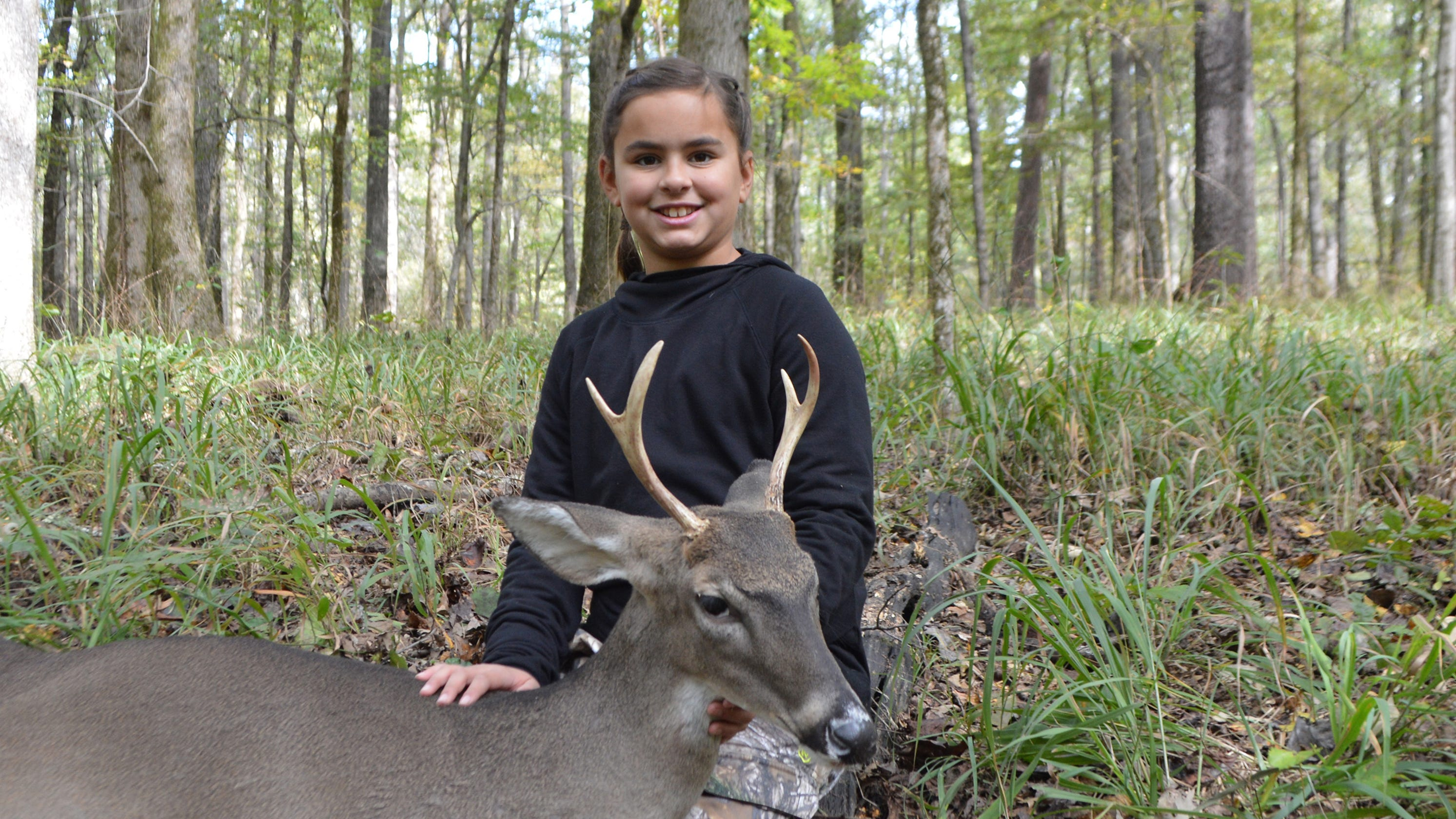 Wildlife department offers group deer hunts with feel of