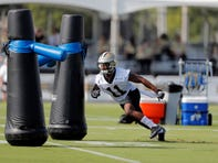 Too short, small school, injury — no matter. Saints return man Deonte Harris working to overcome obstacles