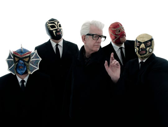 Nick Lowe's Quality Rock & Roll Revue starring Los Straitjackets will perform at the Davidson on Sept. 24.
