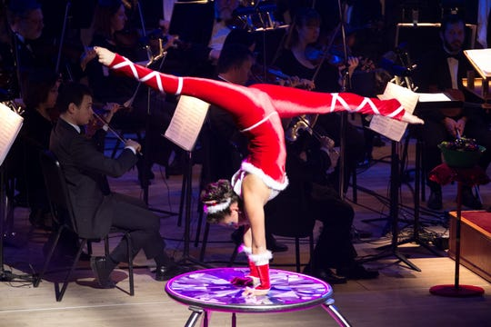 CAPA presents Cirque Musica's Holiday Wishes at the Palace Theatre (34 W. Broad St.) at 7:30 p.m. Dec. 4 .