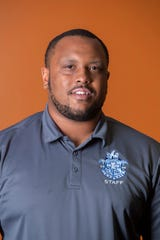 Iroquois High School football head coach Donte Ellison.