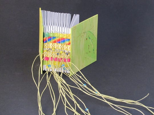 A book created by artist Cheryl Mahowald.