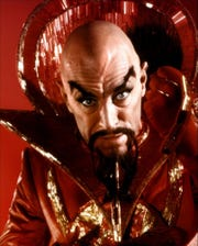 "Max von Sydow was a memorably maleveolent Ming the Merciless in the 1980 ""Flash Gordon."""