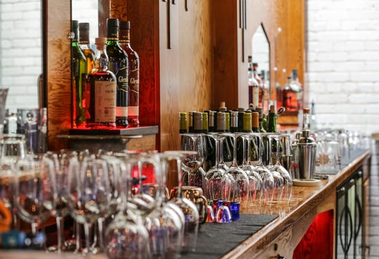 The Precinct Tap & Table restaurant in Germantown features a fully stocked bar.