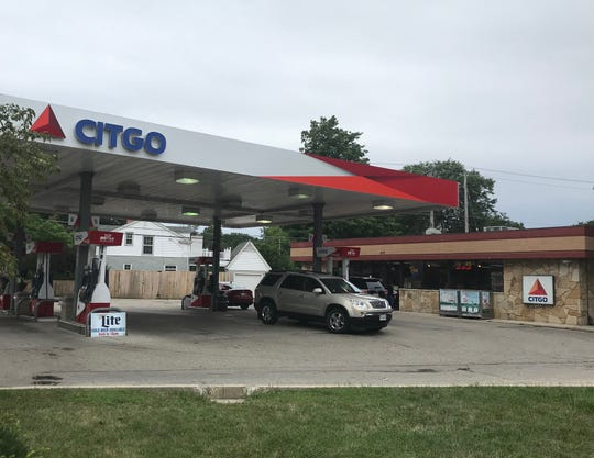 The Citgo gas station at 209 W. Silver Spring Drive could be replaced with a Chase Bank.