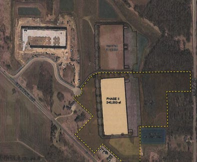 Ryan Cos. plans to develop another large industrial building at Willow Creek Business Park, in Germantown.
