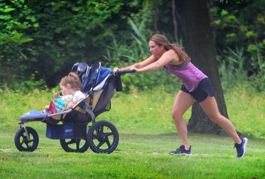 Mothers of babies and toddlers can enjoy free trainer-led workouts at The Shoppes at EastChase beginning Aug. 17. The classes start at 10 a.m. each Saturday and continue through October. The fun will take place on The Green, adjacent to Pies & Pints.