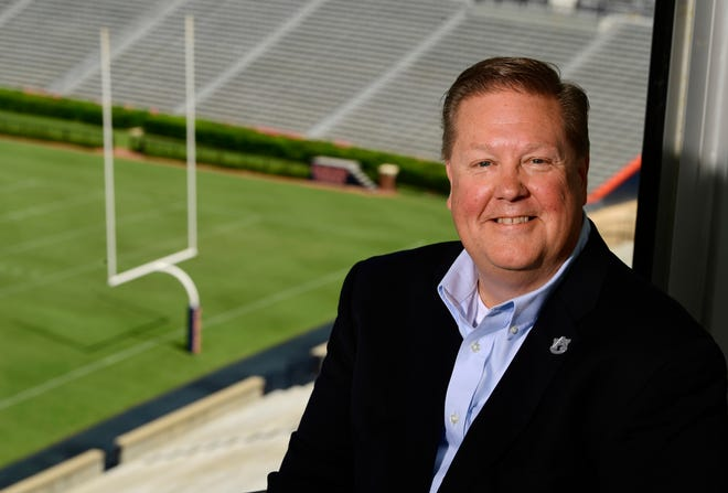Andy Burcham named Auburn play-by-play announcer. Picture taken on Friday, Aug. 9, 2019 in Auburn, Ala.