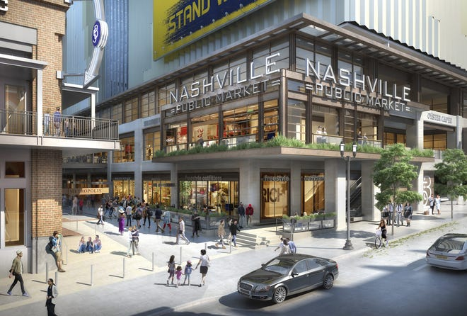Assembly Food Hall is slated to open in spring 2021 with more than 20 vendors at Fifth + Broadway.