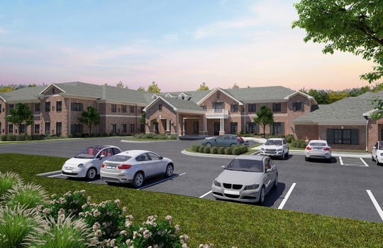 A rendering of The Capstone at Mt. Juliet, a proposed senior living facility for North Mt. Juliet Road.