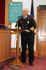 Paul Wells is the new chief of the Birmingham Fire Department.