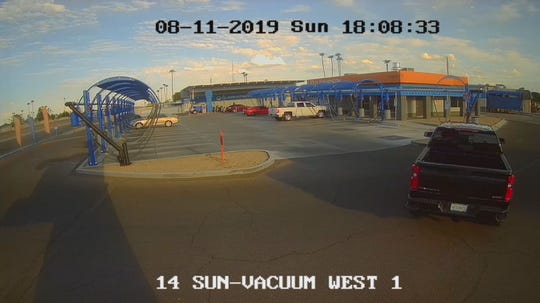 MCSO says a woman was chased in the area of 11049 West U.S. 60 in Youngtown, Arizona, where she was caught and forced inside of a black 2019 Chevrolet Silverado pickup truck on Aug. 11, 2019.