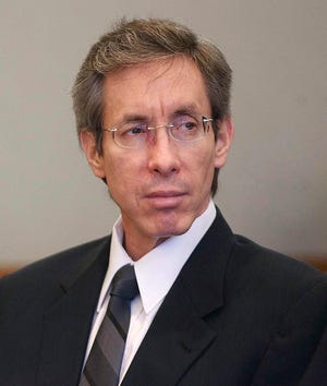 In this Nov. 15, 2010 file photo, Warren Jeffs sits in the Third District Court in Salt Lake City.