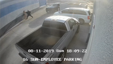 Video surveillance of a possible abduction in Youngtown on Aug. 11, 2019.