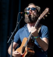 In his latest collaboration with Arizona's Calexico, Sam Beam of Iron & Wine brought along his own keyboard player and bassist.