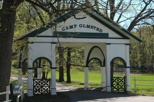 Camp Olmsted in Cornwall, Orange County was established in 1901 by the Five Points Mission in New York City. It provides disadvantaged youth in the city with an opportunity to enjoy a two-week stay in the country, away from congested inner-city life.