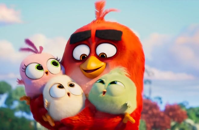 """""""The Angry Birds Movie 2"""" opens Tuesday at Regal West Manchester, Frank Theatres Queensgate Stadium 13 and R/C Hanover Movies."""