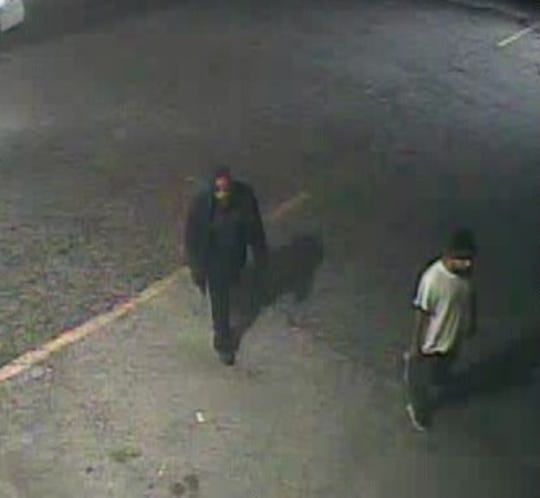 West Manchester Township Police released this surveillance photo of two men suspected of robbing the Buy-Rite beer distributor on Aug. 1.