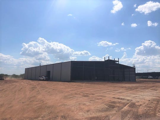 Ultimate Air trampoline park makes progress on construction in San Angelo.