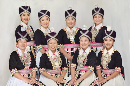 While performing at the Waelderhaus on Sunday, Aug. 18 at 2 p.m., the LunaBellas will be dressed in embroidered costumes and elaborate silver jewelry that feature prominently in Hmong ethnic dances.