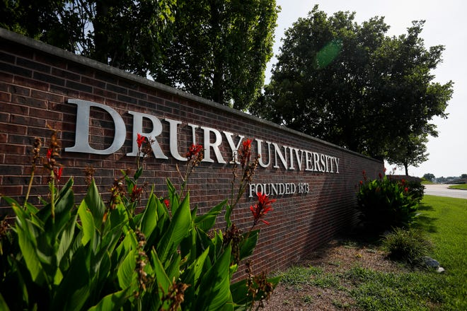 Drury University is located at 900 N Benton Ave., in Springfield, Mo.