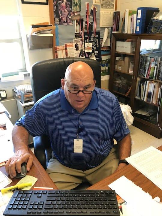 David Tibbs, Staunton High School athletic director