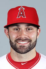 Anthony Bemboom drove in the winning run in his debut with the Los Angeles Angels on Sunday night.