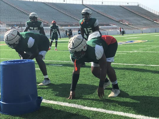 FAMU defensive end Abu Bangura is expected to be a major contributor as an edge rusher in 2019.