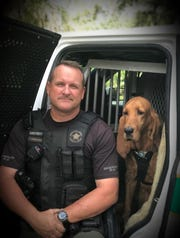 Deputy Brian Reimsnyder and his beloved bloodhound sidekick Dixie worked together for almost 12 and a half years, he said.