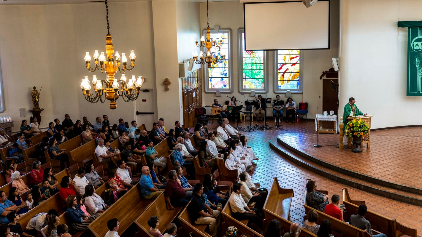 Two parishioners among El Paso shooting victims, priest relies on faith in god and a city
