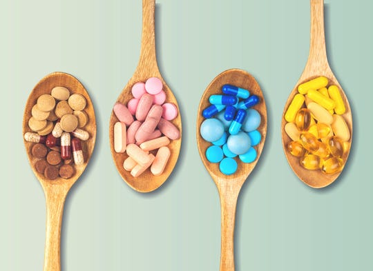 Supplements, vitamins and minerals can help with overall health if taken correctly.