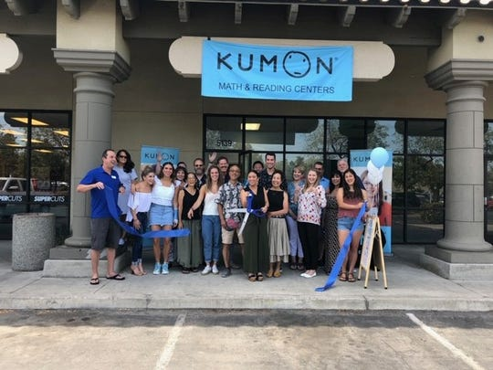 Kumon Math and Reading Centers open its doors in Visalia on Aug. 1, 2019.