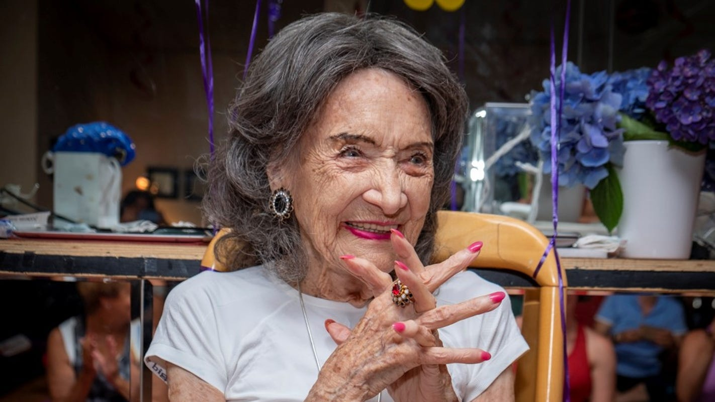 Tao Porchon-Lynch, the world's oldest yoga teacher, turns 101