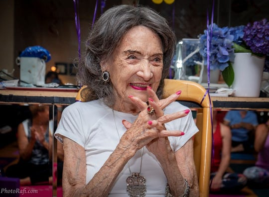 Tao Porchon-Lynch, the world's oldest yoga teacher who marched with Gandhi, dies at 101