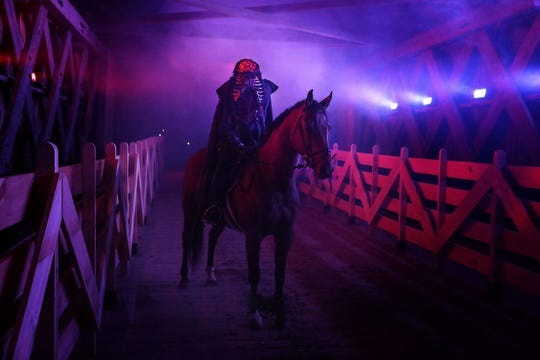 """The Headless Horseman is a key player in the new """"Sleepy Hollow Experience,"""" coming Oct. 4 to Washington Irving's Sunnyside."""