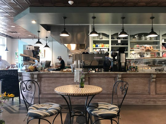 Legal Grounds Cafe in Elsmere is a hidden gem. We like the coffee and salmon-avocado toast.
