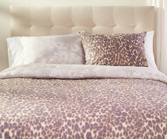 A twin reversible animal print comforter set by Jill Martin found on QVC.com for $99.