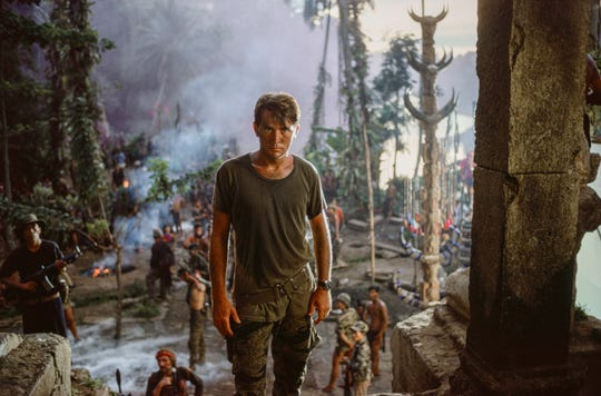 "This image provided by Zoetrope Corp. shows Martin Sheen in a scene from ""Apocalypse Now Final Cut,"" directed by Francis Ford Coppola. The movie releases in theaters on Aug. 15. (Chas Gerretsen/Nederlands Fotomuseum/Zoetrope Corp. via AP) ORG XMIT: CAET211"