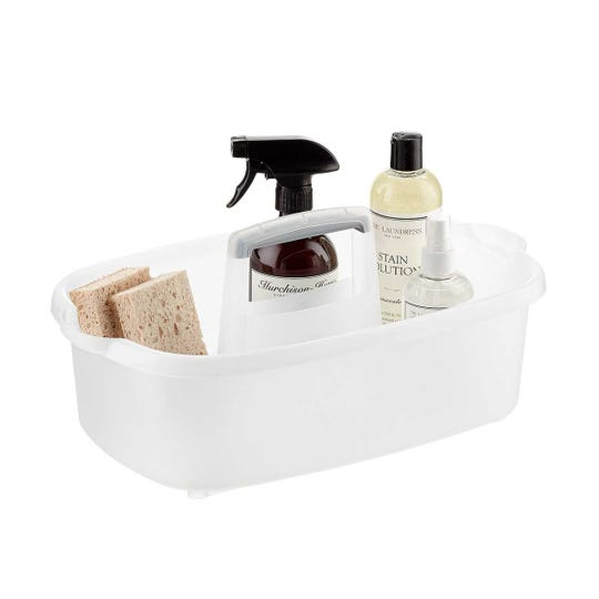 The $6.99 Casabella caddy can be found at The Container Store.