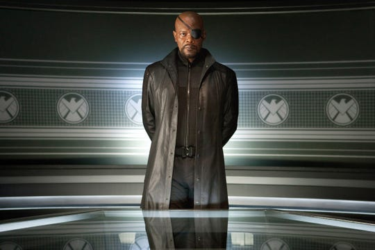 Samuel L. Jackson as Nick Fury.