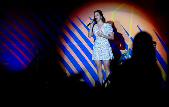 Lana Del Rey performs on the second day of the Benicassim International Music Festival (FIB) in Benicassim, Spain, early on July 20, 2019.