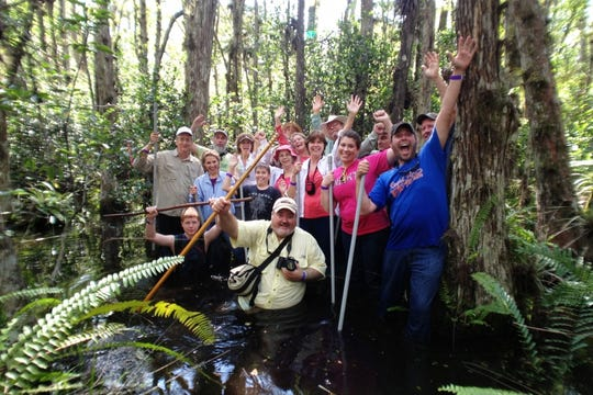 Adventure through the Everglades at Big Cypress National Preserve.