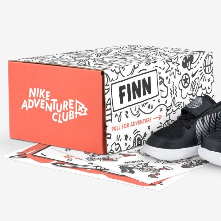 0701ffe998d Nike has begun their first children's subscription service, Nike Adventure  Club