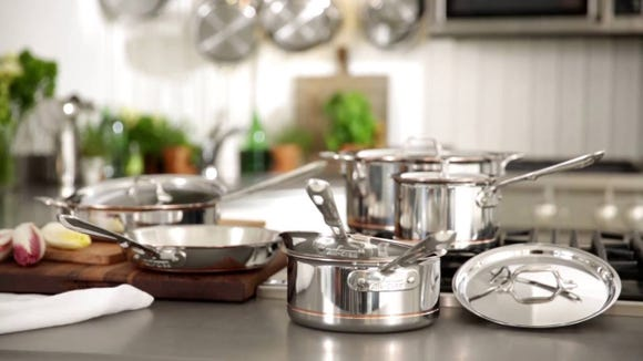 All-Clad VIP Factory Seconds Sale is back again with huge savings on all their cookware.