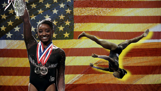 Opinion: Simone Biles isn't just best gymnast of her time, she's an athlete for the ages