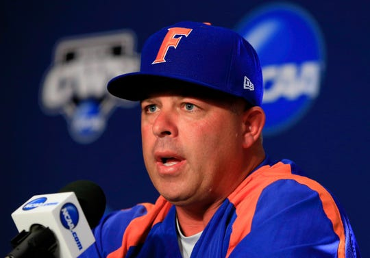 Florida coach Kevin O'Sullivan from the   2015 NCAA tournament.