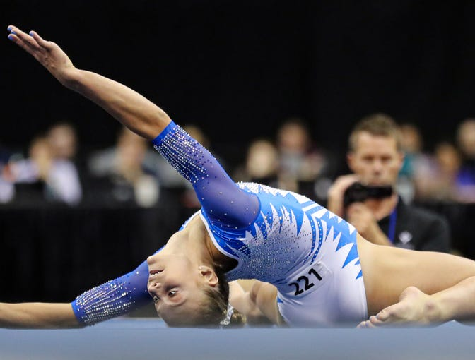 Most incredible photos from the 2019 U.S. Gymnastics ...