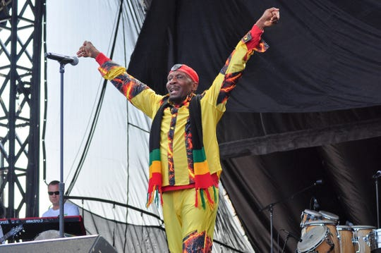 JImmy Cliff, pictured in 2012.