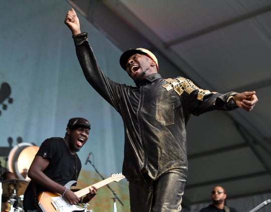 Jimmy Cliff, pictured on stage in 2015.