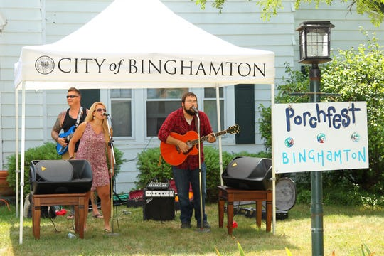 The West Side of Binghamton will host the Binghamton Porchfest for a fifth year.